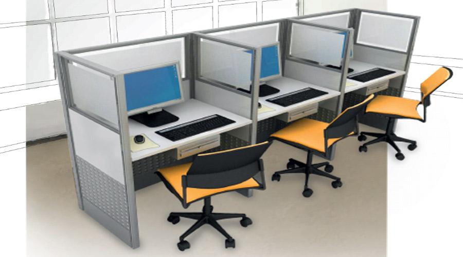 Puestos de trabajo para oficina en cali pereira armenia for Muebles de oficina puestos de trabajo